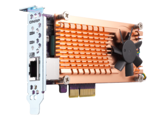 QNAP's M.2/10GbE PCIe expansion card